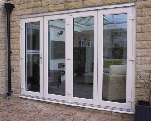 Bi folding doors from bison for 2m french doors